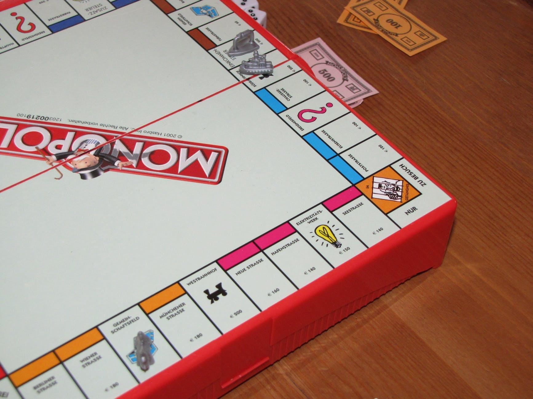 board game chance fun gambling