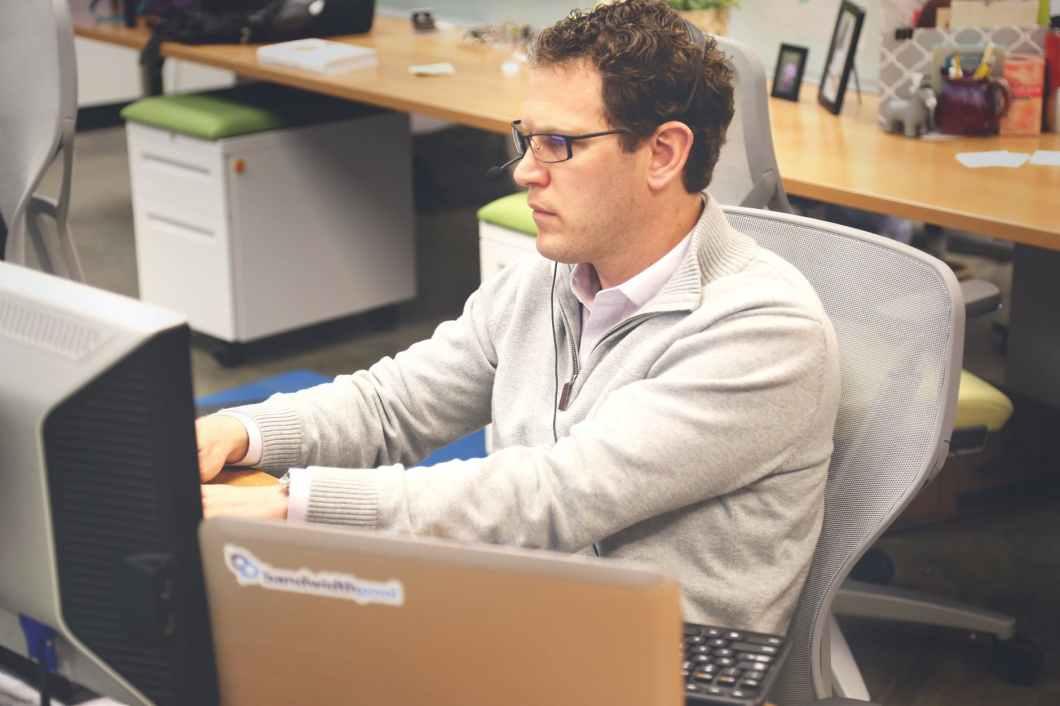 desk office workspace coworking