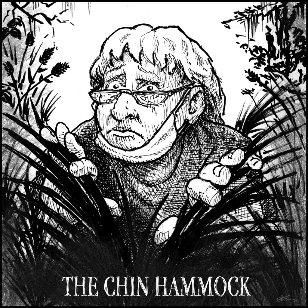 Hiking Trail Masking Fails panel 4 - The Chin Hammock
